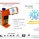 Automatic Sanitiser Sprayer Logo | IEMLabs