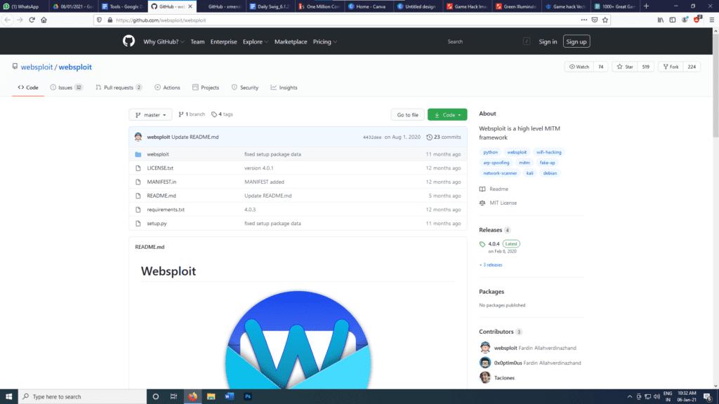 WebSploit Tool | IEMLabs